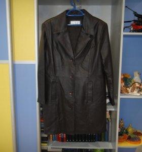 Женская куртка-пальто кожа оригинал из Germany