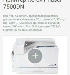 Принтер Xerox 7500 dn