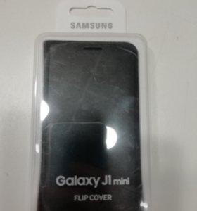 Оригинальный чехол книжка Samsung Galaxy J1 mini