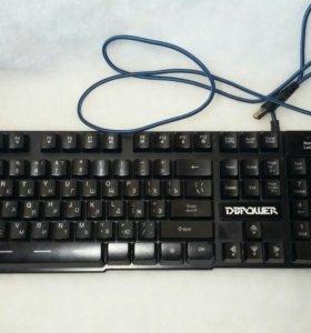 Игровая механическая клавиатура.