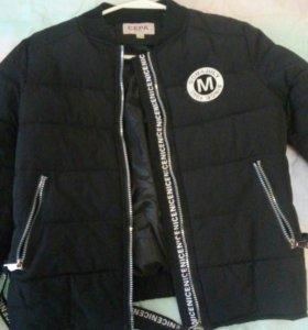 Куртка, на теплую погоду