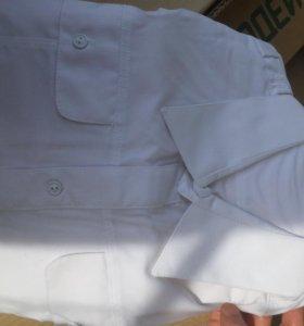 Рубашка белая парадная военная