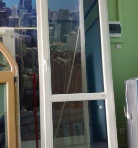 Окна и дверь.