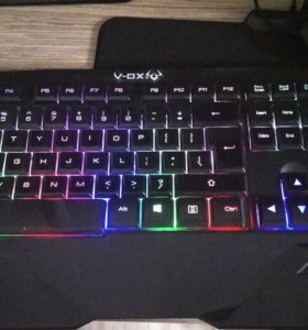 Клавиатура с подсветкой RGB