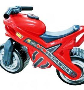 """Каталка-мотоцикл""""Мх"""""""