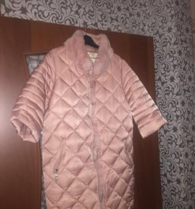 Пуховое пальто 44 Р