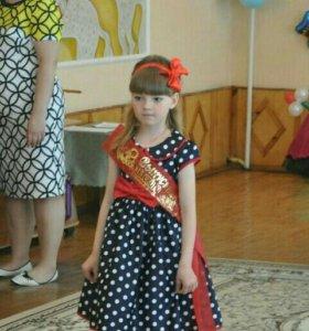 Платье детское. Одето один раз. Торг уместен
