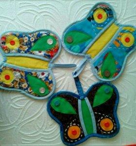 Прихватки для кухни- бабочка