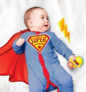 """Набор элементов для детской фотосессии """"Супермалыш"""
