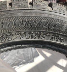Зимние шины Dunlop 195/55 R16