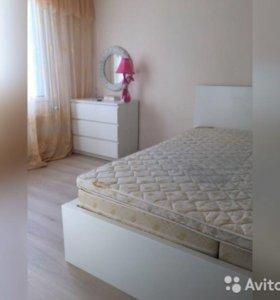 Кровать 160*200 + 2 фин. матраса и наматрасник