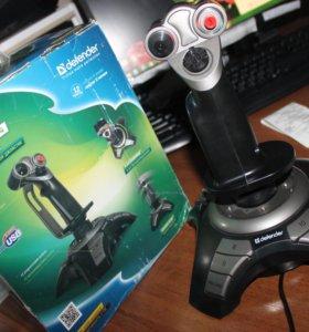 Джойстик игровой Defender Cobra r4 usb (новый)
