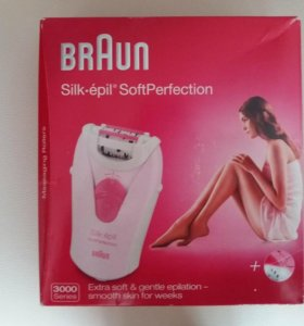 Эпилятор braun Silk-epil Soft Perfection