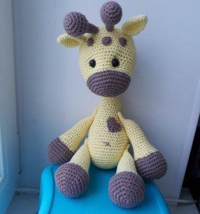 Жирафик Лу. Амигуруми. Ручная работа. Для детей