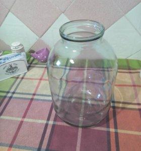 Банки стеклянные 3-х литровые
