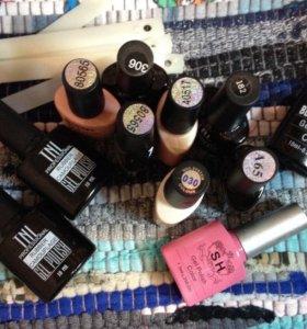 Материалы для наращивания и покрытия ногтей