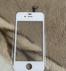 Стекло на IPhone 4s