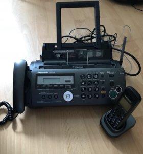 Телефон-факс Panasonic KX-FC278