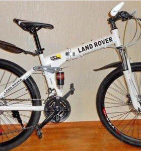 Велосипед LAND ROVER на спицах