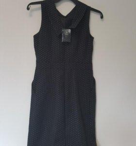 Платье с ремешком,новое Oodji