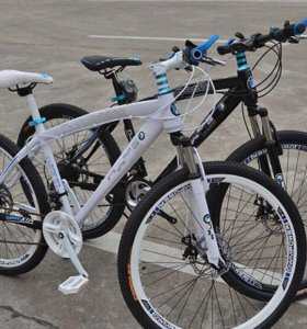 Велосипед BMW X6 на спицах