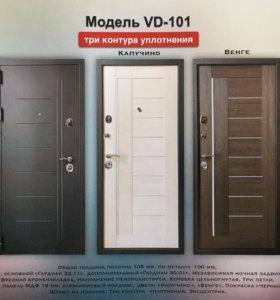 Дверь входная металическая VD-101