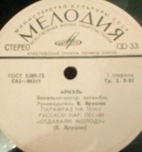 Пластинка 1976 год