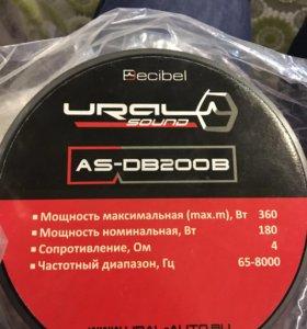 URAl Decibel db200b 20см
