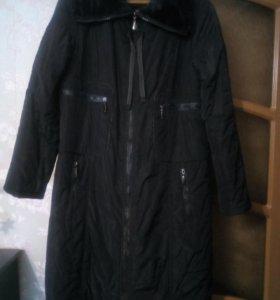 Пальто балоневое утепленное