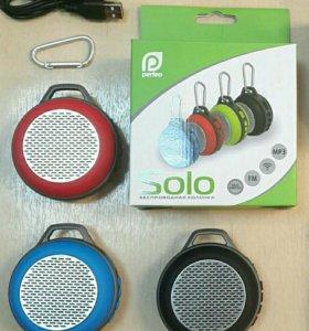 Колонка Perfeo PF-5205 SOLO hands-free, MP3, FM,