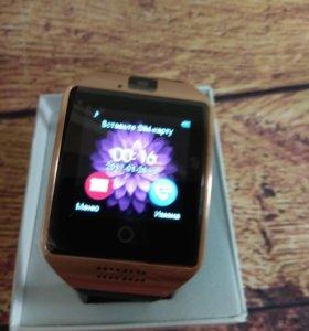 Умные часы Q18 smart watch золото