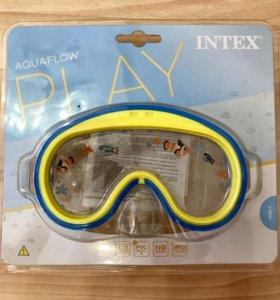 Детская маска для плавания (новая)