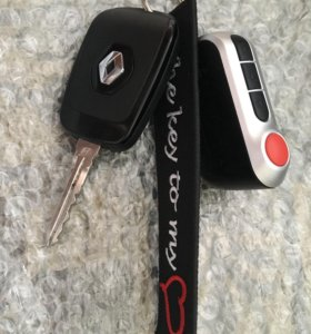 Брелок на ключи от авто «Ключ от моего сердца»