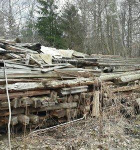Бревна, дрова