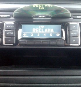 Автомагнитола RCD210 CD/MP3 AM/FM Volkswagen Skoda