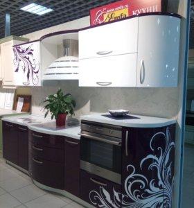 Кухня с салона