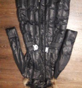 Новое пальто синтепон 44-46