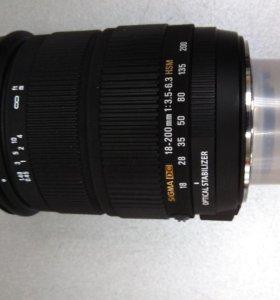 Объектив Sigma 18-200mm