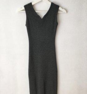 Базовое трикотажное платье MOST zara mango hm bear