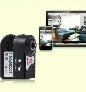 Мини видео камера с ночным видением.