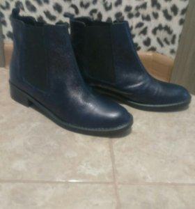 Новые ботинки женские челси (Франция)