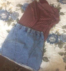 свитер, юбка