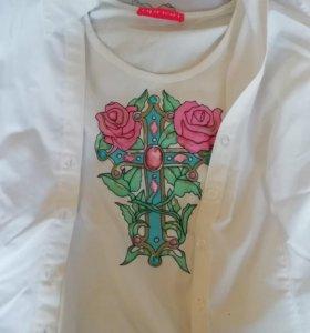 Комплект рубашка с футболкой 46-48 Apriori