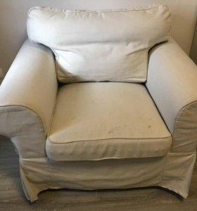 Кресло мягкое IKEA