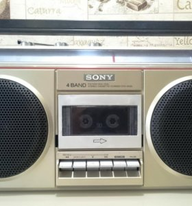 Магнитофон sony CFS-400S Japan 1979г