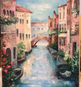 Картина маслом «Венеция»