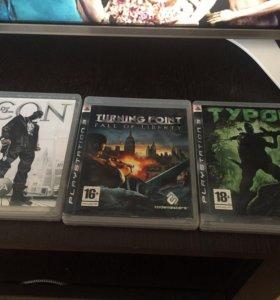 Диски на Sony PlayStation 3.