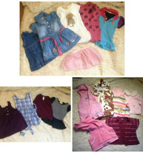Сумка вещей для девочки от года до 1,5-2 лет