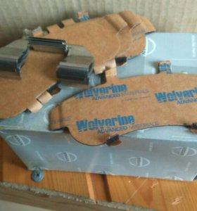 Противоскрипные пластины Nissan Almera n16