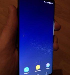 Samsung S8 64gb чёрный, полный комплект